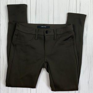 J brand olive ody stretch pants